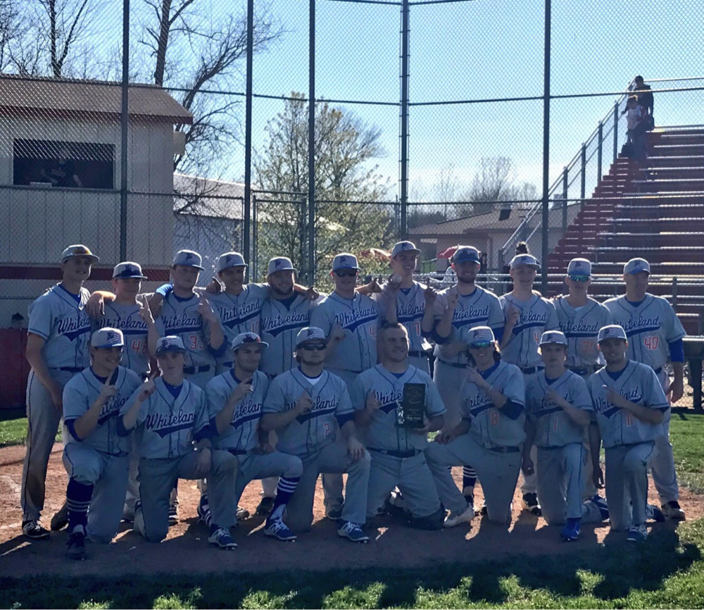 Baseball Warriors are County Champs!!