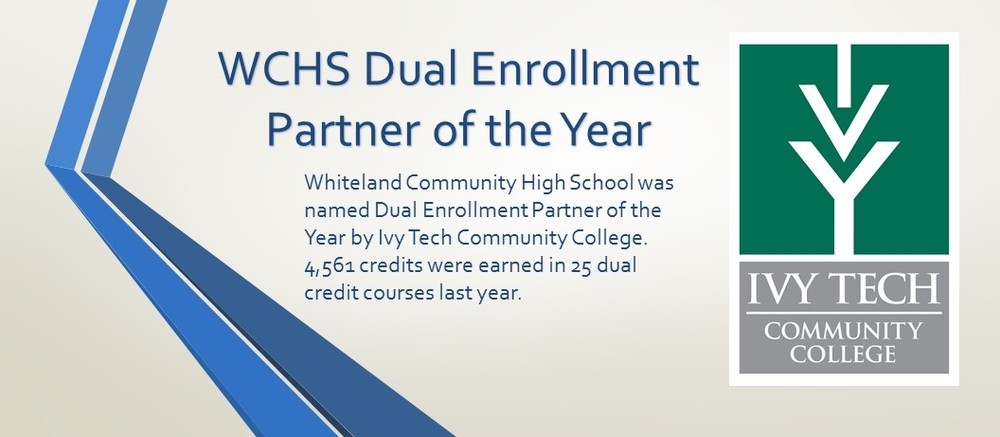 WCHS Dual Enrollment Partner of the Year