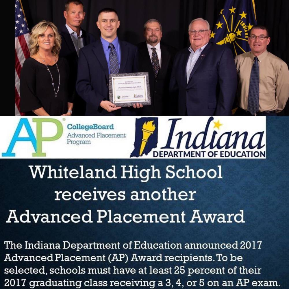 DOE Awards WCHS Another AP Award!