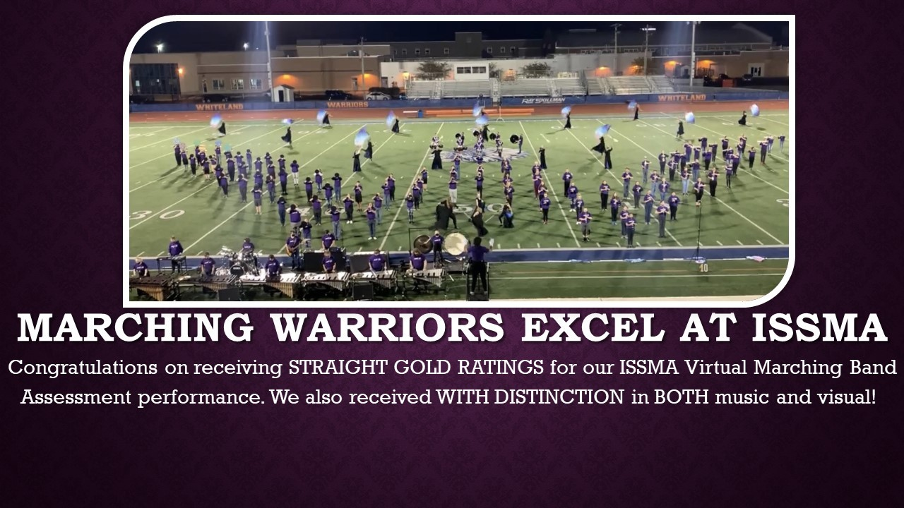 Marching Warriors Excel at ISSMA