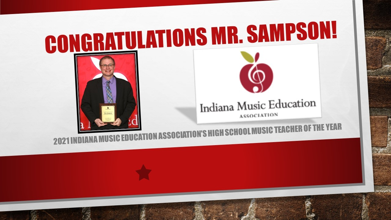 Sampson Music Teacher of the Year