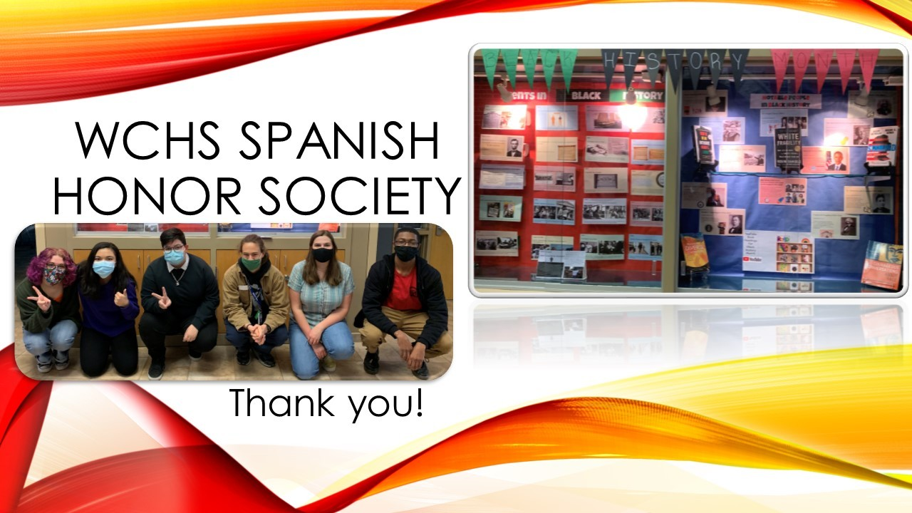 WCHS Spanish Honor Society Feb