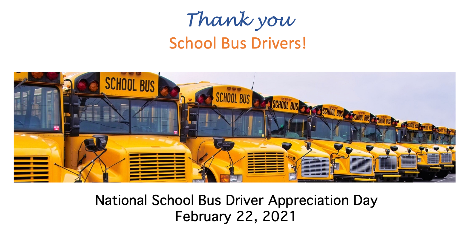 National Bus Drivers Day